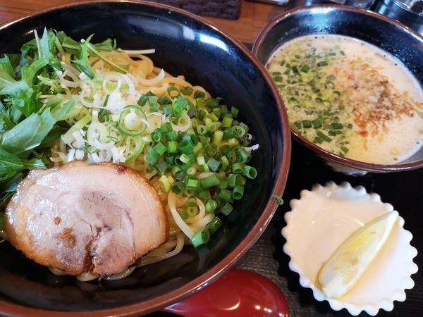 「極み鶏つけ麺」@富意家の写真