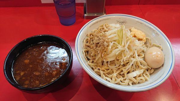 「つけ麺300g(850円)+とろ~り半熟卵 ニンニク魚粉」@麺屋 桐龍の写真