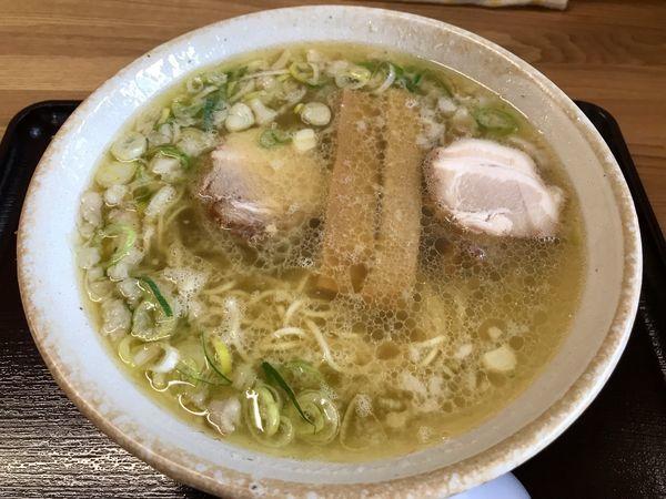 「塩ラーメン こってり  600円」@中華そば 弥太郎の写真