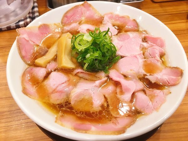 「チャーシュー鶏そば 醤油」@中華そば ココカラサキゑの写真