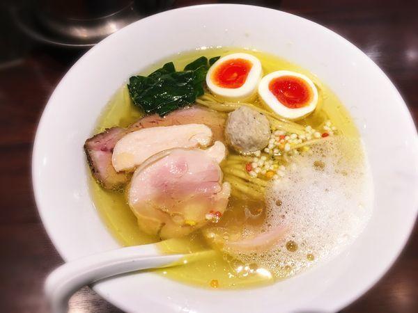 「特製淡麺(塩)」@NAKAGAWA わずの写真