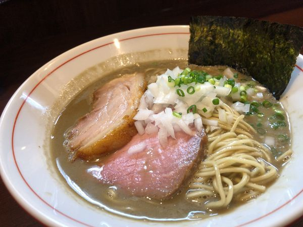 「濃厚煮干し蕎麦 850円 油そば(和え玉)200円」@零一弐三の写真