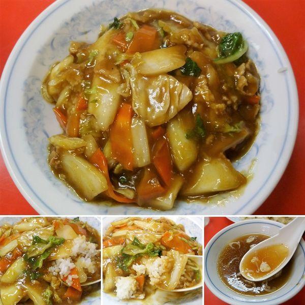 「カレー丼 750円」@中華料理 一番の写真