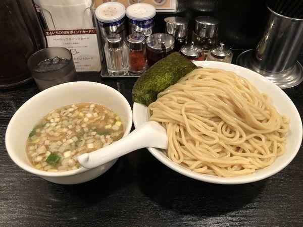 「塩つけ麺(特盛)」@大勝軒 まるいち 新宿店の写真