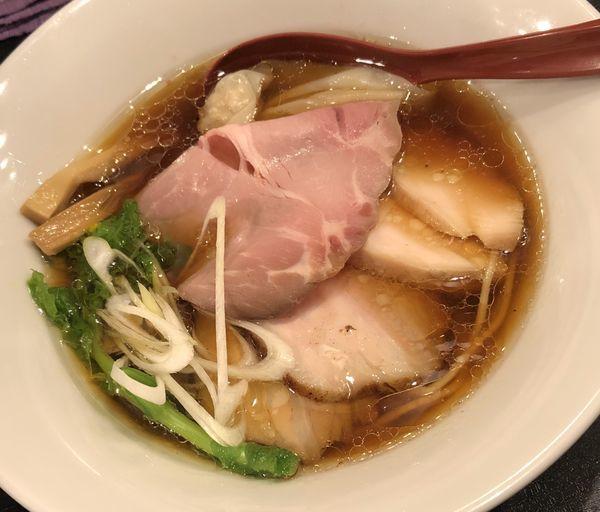 「チャーシュー鶏そば(醤油)」@雨ニモマケズの写真