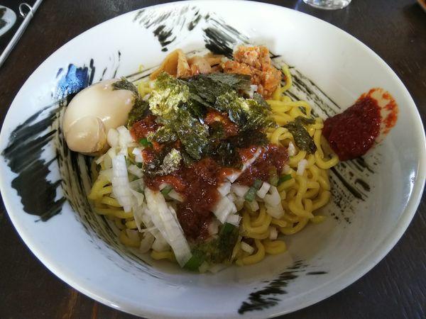 「みそ油 (1.5玉) +味玉:ランチ限定サービス」@麺屋Ossanの写真