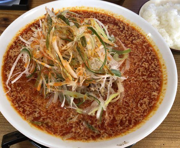 「担々麺 辛目」@支那そば 蔵之宮の写真