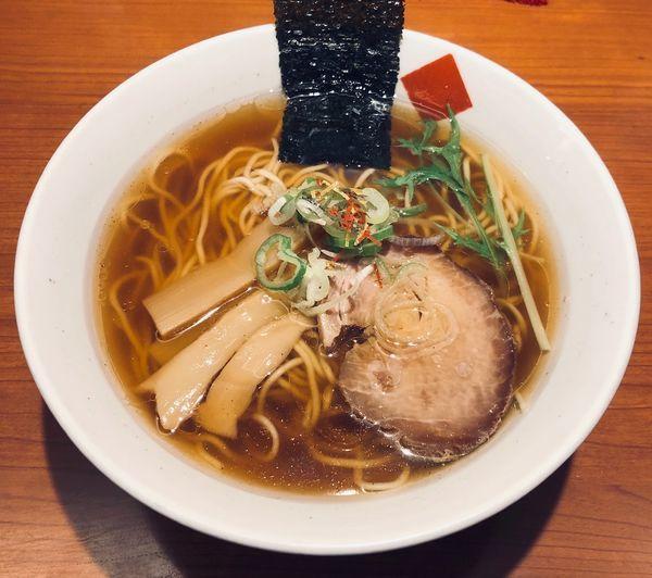 「醤油中華(固め¥770)」@東京の中華そば ちよがみの写真