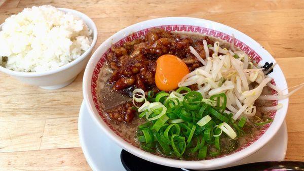 「肉汁麺 レベル2」@肉汁麺ススム 秋葉原本店の写真