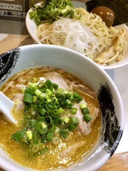 「【限定C】淡麗塩つけ麺 ¥850」@麺屋 扇 SENの写真