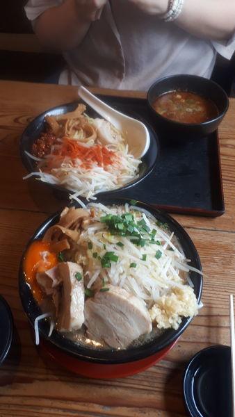 「ラーメン、つけ麺」@ジパング軒 宇都宮駒生店の写真