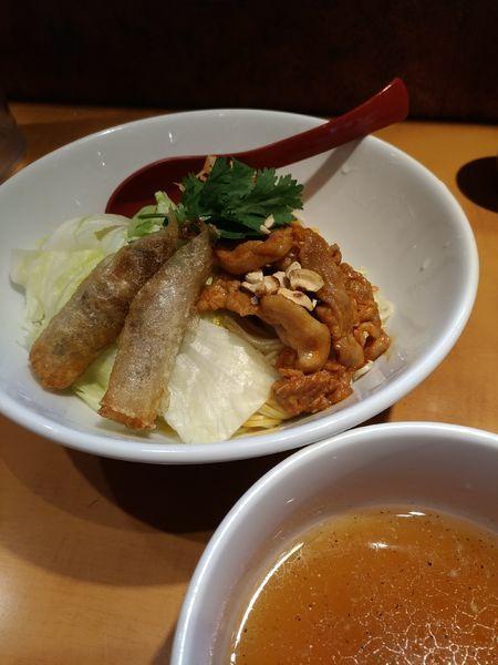 「ベトナム ブンチャー風つけ麺」@麺屋 翔 品川店の写真