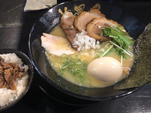 「特製トリパイタン」@鶏そば専門 次男坊 三鷹店の写真