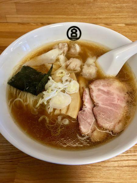 「ワンタン麺」@HACHIの写真