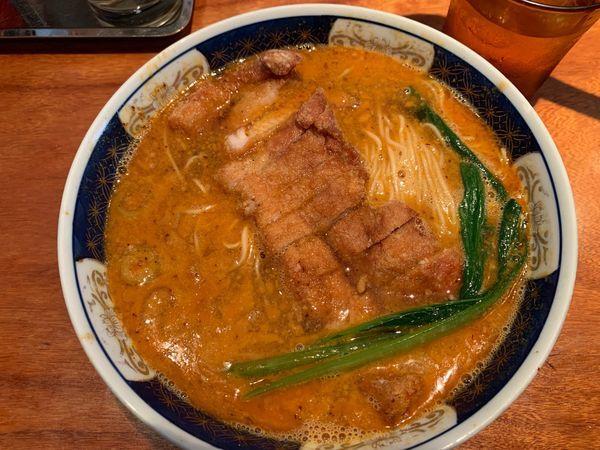 「ぱいこうだんだんめん1000円」@支那麺 はしご 銀座四丁目店の写真