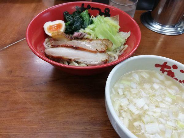 「鶏白湯つけ麺 限定」@なんつッ亭 弐 品川店の写真