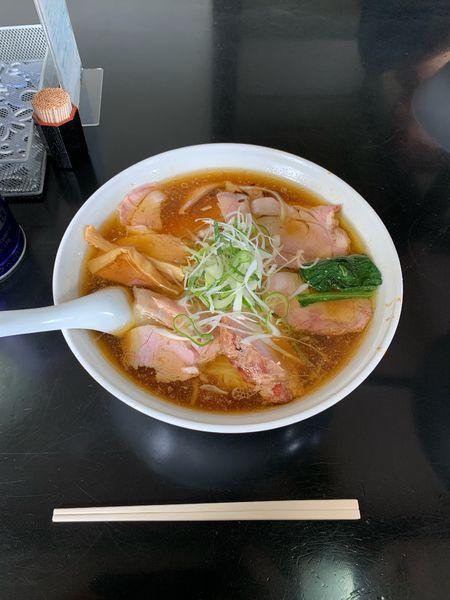 「チャーシューワンタン麺 大盛り」@手打 焔の写真