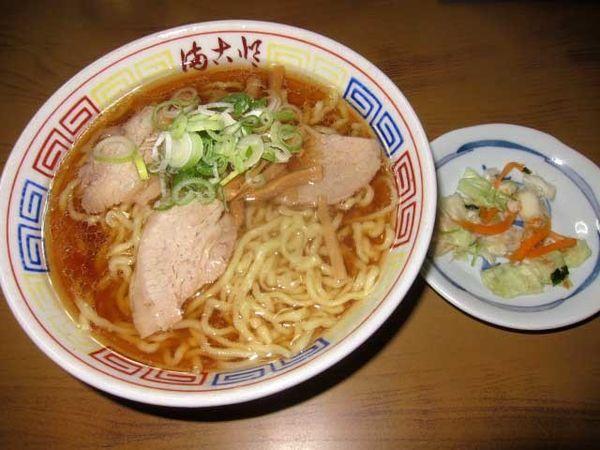 「中華そば 700円」@まこと食堂の写真