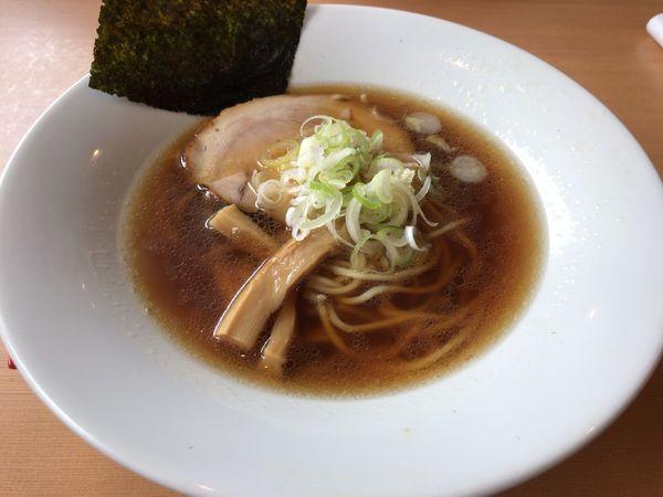 「醤油らーめん」@らーめんキッチン いいづかの写真