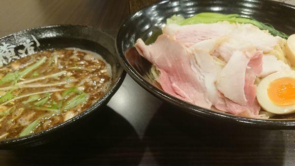 「魚介つけ麺」@横道の写真