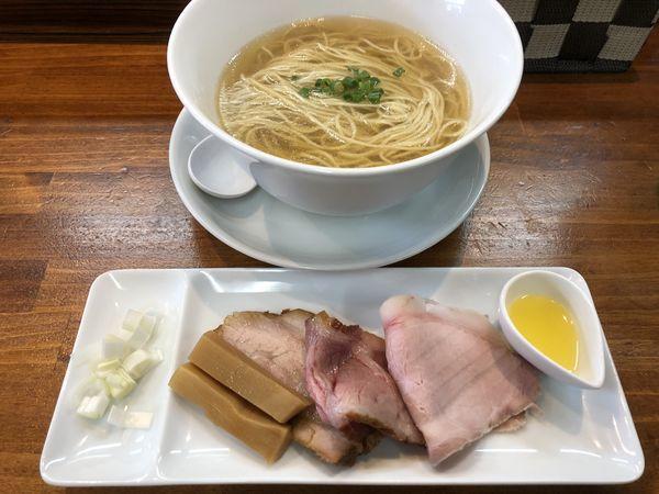 「あご節コンチータ改¥850」@塩らーめん 千茶屋の写真