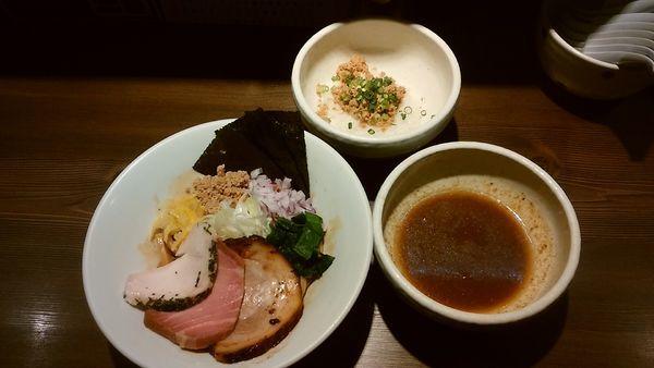 「(5/31限定)濃厚アゴ出汁和えつけ麺」@つけ麺 一燈の写真