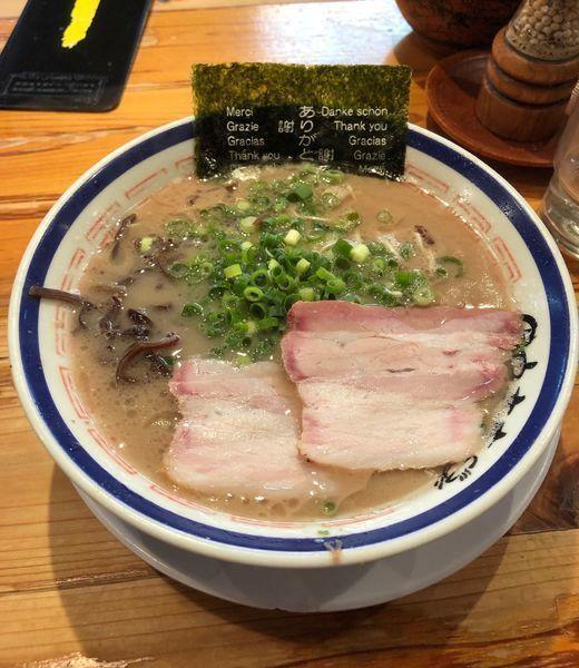 「ラーメン¥720」@博多長浜らーめん 田中商店の写真
