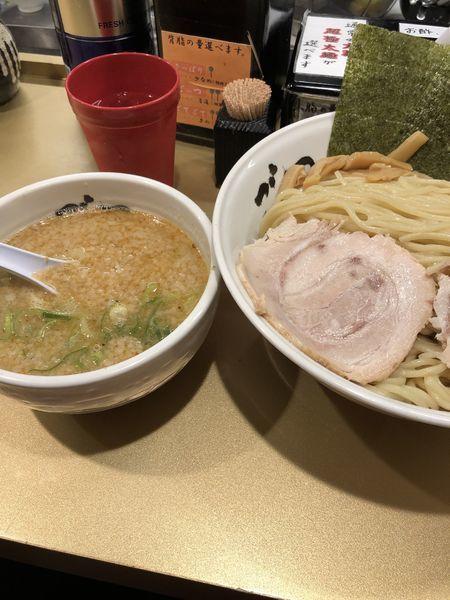 「つけ麺 空 ゆず」@超ごってり麺 ごっつ 亀戸本店の写真