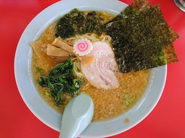 「ラーメン(アブラ多め)+辛味スパイス」@ラーメンショップ 太田店の写真