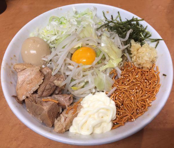 「タレそばG+味玉」@らーめんコジマルの写真