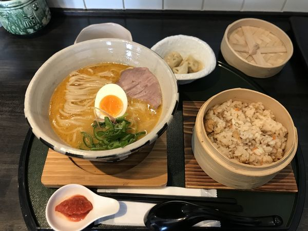 「鶏白湯麺ver.4改〜まるごと甘海老〜」@ORIBEの写真