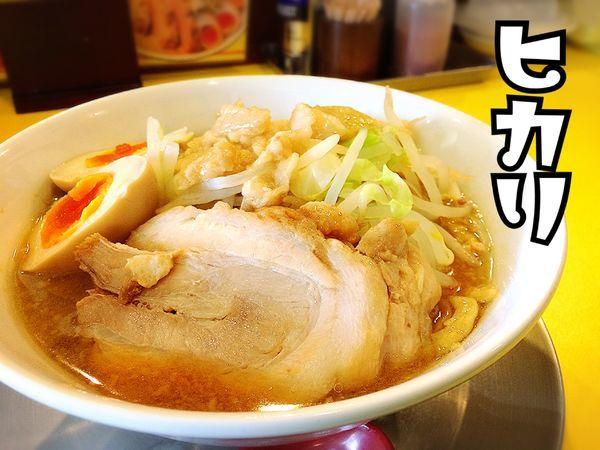 「ラーメン(小)¥700」@ラーメン ヒカリの写真