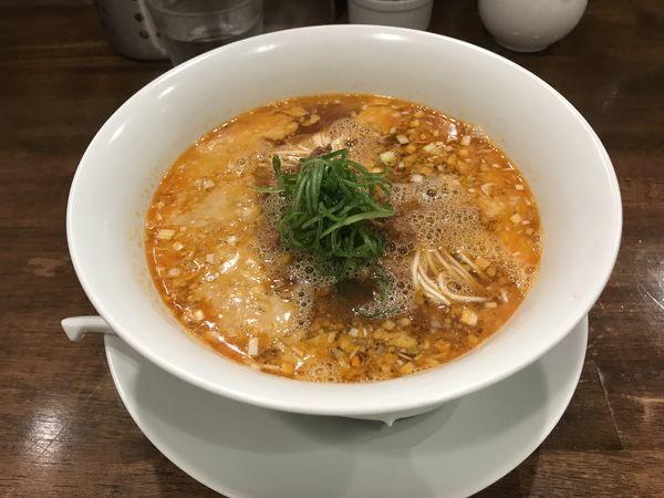 「坦坦麺」@創作麺工房 鳴龍の写真