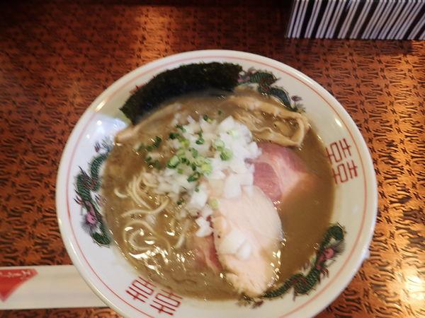 「濃厚煮干しそば(サラダ付)(800円)+和え玉(200円)」@驢馬の写真