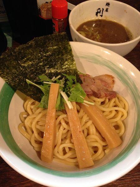 「つけめん 800円」@自家製麺 麺屋 利八の写真