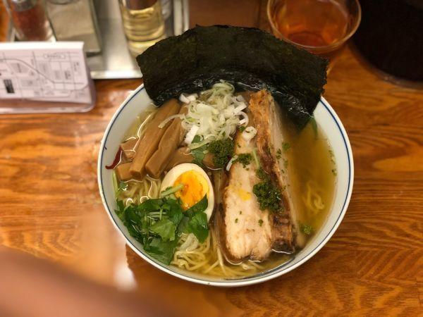 「和風柚子焼豚麺+海苔」@麺屋ひょっとこの写真