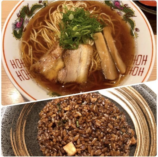 「京都醤油らぁ麺」@京紫灯花繚乱の写真