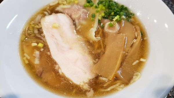 「チャーシューワンタンメン」@麺匠 きくちの写真