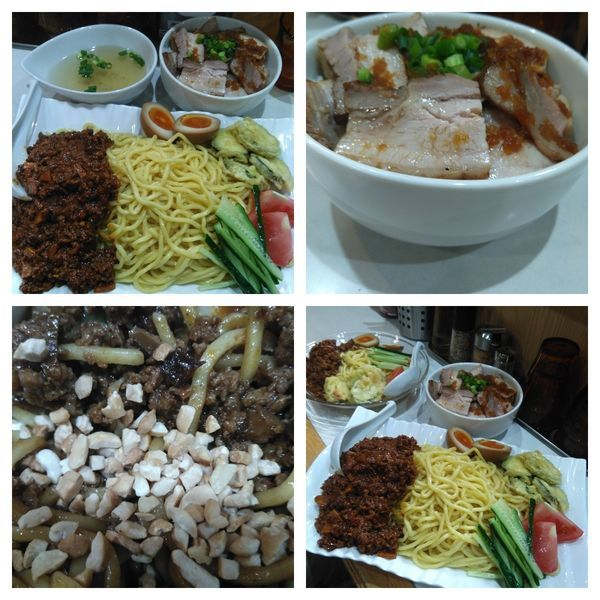 「【限定】辛肉味噌和え麺+チャーシュー丼」@麺屋 扇 SENの写真