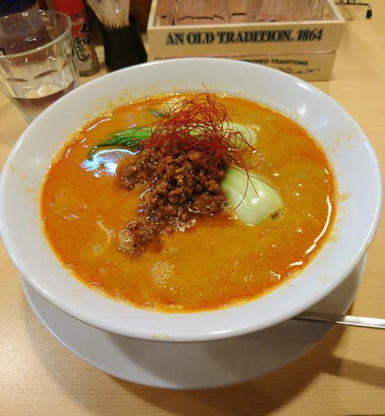 「担担麺」@らーめんDINING れんげの写真