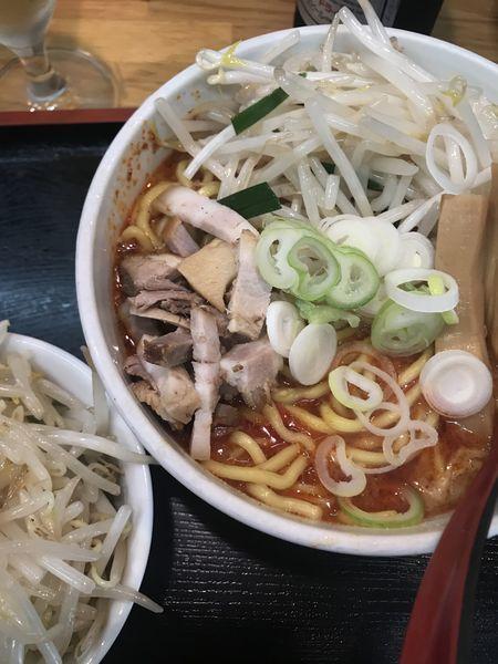 「あえめん、野菜大盛り」@味噌麺処 花道の写真