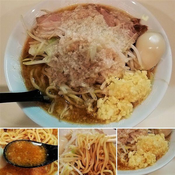 「塩旨辛ラーメン(3/5/6) 760円」@麺家ぶんすけの写真