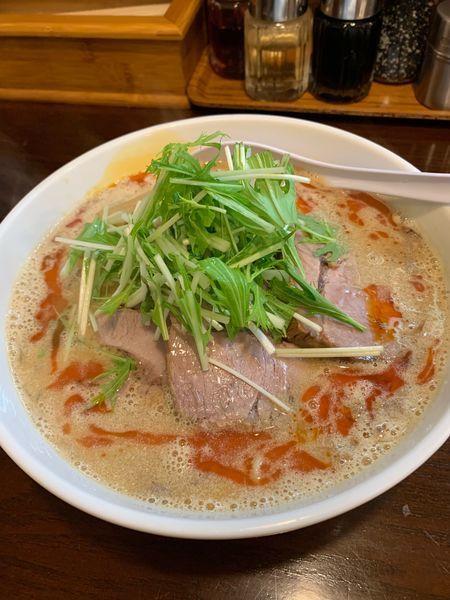 「大慶式担々麺+チャーシュー3枚」@らーめん大慶の写真