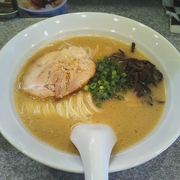 「とんこつ川越醤油」@麺屋 MANIの写真