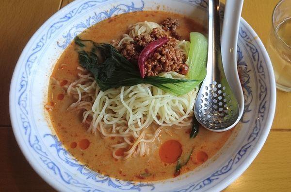 「冷しタンタン麺」@中国ラーメン 揚州商人 流山店の写真