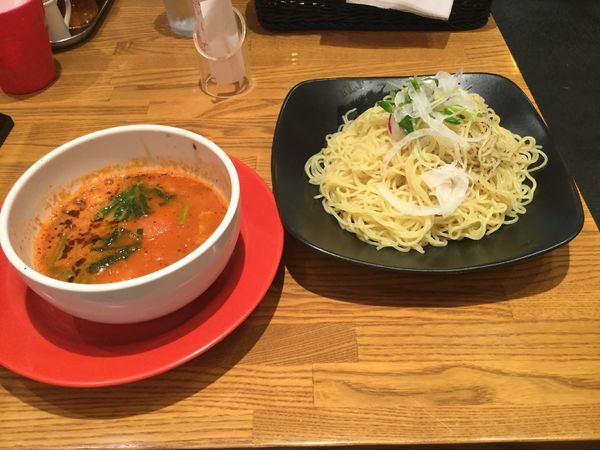 「とまとつけ麺(¥790)」@とまこ 三宮センタープラザ店の写真