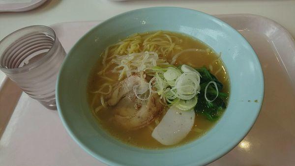 「和歌山ラーメン_390円」@明治大学 中野キャンパス学生食堂の写真