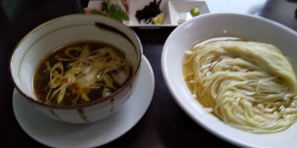 「昆布水つけめん醤油」@麺屋 むじゃきの写真