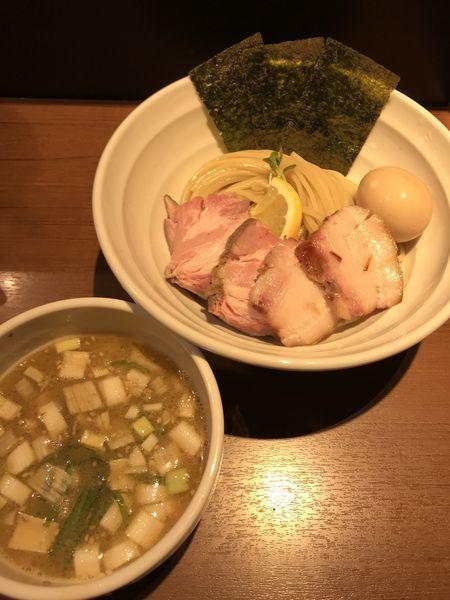 「特製白鶏湯つけ麺」@麺処 はら田の写真