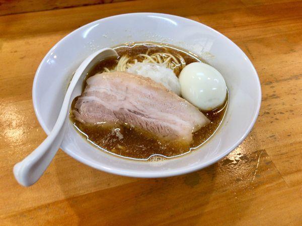「煮干し中華ソバ」@煮干中華ソバ イチカワの写真